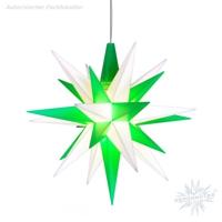 weiß-grüne Sternenkette