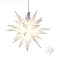 weiße Sternenkette